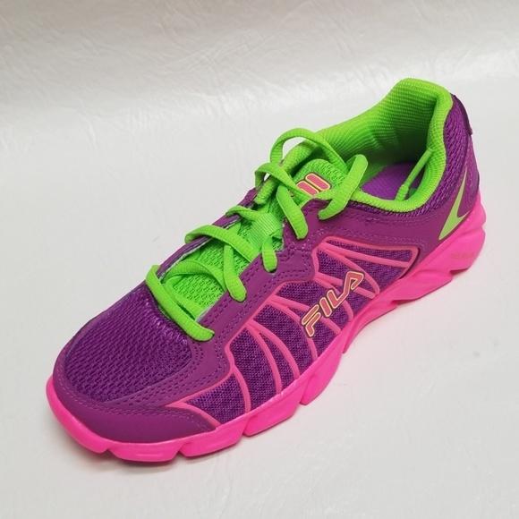 NEW FILA girls Youth RADICAL LITE 2 sneakers 3 5 NWT